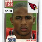 TONY DAVIS 2004 Big 33 High School card CARDINALS