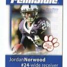 JORDAN NORWOOD 2008 Penn State Second Mile BROWNS Broncos
