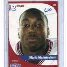 MARIO MANNINGHAM 2005 Big 33 High School card MICHIGAN Wolverines NY GIANTS 49ers