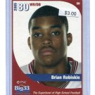 BRIAN ROBISKIE 2005 Big 33 High School OHIO STATE BUCKEYES Browns