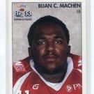 B.J BJ BIJAN C. MACHEN 2008 Big 33 High School card GEORGIA TECH Yellowjackets