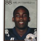 ABE SATTERFIELD 2007 Big 33 High School card IOWA Hawkeyes