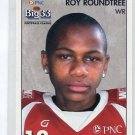 ROY ROUNDTREE 2008 Big 33 High School card MICHIGAN Wolverines WR