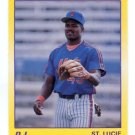 D.J. DOZIER 1990 Star #9 St. Lucie Mets PENN STATE