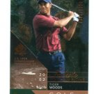 TIGER WOODS 2003 SP Authentic Salute to Champions U.S. OPEN #d/2002 PGA GOLF