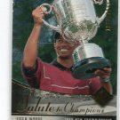 TIGER WOODS 2003 SP Authentic Salute to Champions PGA CHAMPIONSHIP #d/1999 PGA GOLF