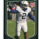 DERRICK WILLIAMS 2009 Bowman #164 PENN STATE Detroit Lions