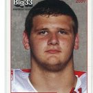 JOHN PRIOR 2009 Big 33 Ohio High School card FLORIDA STATE Seminoles