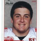 COREY LINSLEY 2009 Big 33 Ohio High School card OHIO STATE BUCKEYES Green Bay Packers CENTER