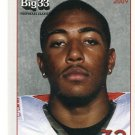 JONATHAN NEWSOME 2009 Big 33 Ohio High School card OHIO STATE BUCKEYES LB