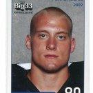 JACK LIPPERT 2009 Big 33 Pennsylvania High School card PITT PANTHERS
