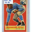 ROOSEVELT ROSEY GRIER 1956 Topps #101 Giants / Rams PENN STATE Rookie