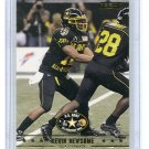 KEVIN NEWSOME 2009 Razor Army All-American Bowl #14 PENN STATE Temple Owls QB