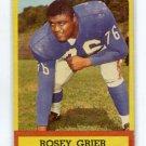 ROOSEVELT ROSEY GRIER 1963 Topps #56 Giants / Rams PENN STATE