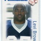 LEVI BROWN 2006 Penn State Second Mile College card CARDINALS