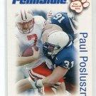 PAUL POSLUSZNY 2006 Penn State Second Mile College card BILLS Jaguars