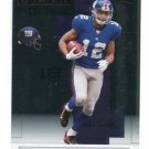 STEVE SMITH 2007 Playoff NFL Playoffs SILVER #129 ROOKIE Giants #d/49