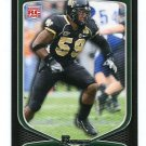 AARON CURRY 2009 Bowman #117 ROOKIE Seahawks WAKE FOREST
