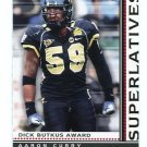 AARON CURRY 2009 Bowman Superlative #S3 ROOKIE Seahawks WAKE FOREST