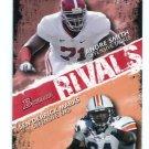 ANDRE SMITH & SEN'DERRICK MARKS 2009 Bowman Rivals #R8 ROOKIE Alabama & Auburn