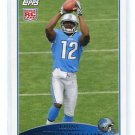 DERRICK WILLIAMS 2009 Topps #364 ROOKIE Lions PENN STATE