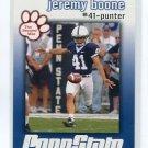 JEREMY BOONE 2009 Penn State Second Mile KICKER