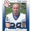 DREW ASTORINO 2009 Penn State Second Mile SAFETY