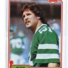 GREG BUTTLE 1981 Topps #285 NY Jets PENN STATE
