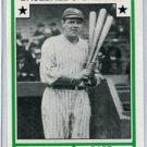 BABE RUTH 1982 TCMA Baseball's Greatest Sluggers #18 NY YANKEES