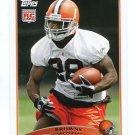 JAMES DAVIS 2009 Topps #416 ROOKIE Browns CLEMSON