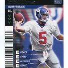 KERRY COLLINS 2001 NFL Showdown Penn State NY GIANTS QB