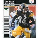 HINES WARD 2002 NFL Showdown STEELERS Georgia Bulldogs