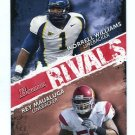 WORRELL WILLIAMS & REY MAUALUGA 2009 Bowman Rivals #R10 ROOKIE USC Trojans & Cal Bears