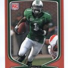 DARIUS PASSMORE 2009 Bowman ORANGE SP #156 ROOKIE Marshall Thundering Herd