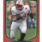 PJ P.J. HILL 2009 Bowman ORANGE SP #194 ROOKIE Wisconsin Badgers