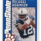 MICHAEL ROBINSON 2003 Penn State Second Mile PRE-ROOKIE 49ers Seahawks QB - First Card EVER!