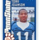 TONY JOHNSON  2003 Penn State Second Mile WR