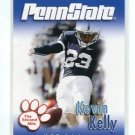 KEVIN KELLY 2007 Penn State Second Mile College card KICKER