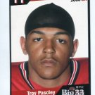 TROY PASCLEY 2006 Big 33 Ohio High School card LOUISVILLE Cardinals