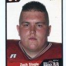 ZACH SLAGLE 2006 Big 33 High School card OHIO STATE Buckeyes