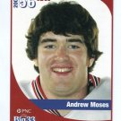 ANDREW MOSES 2005 Big 33 High School card OHIO STATE Buckeyes