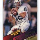 KERRY COLLINS 1995 Superior Pix AUTO ROOKIE Autograph Penn State PANTHERS QB