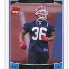 DONTE WHITNER 2006 Topps ROOKIE Ohio State Buckeyes BILLS