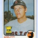 CARLTON FISK 1973 Topps #193 Boston Red Sox All-Star Rookie