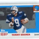 TOMMY KRAMER 2005 Topps All-American Retired Edition #44 QB