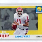 ANDREW WARE 2005 Topps All-American Retired Edition #77 QB