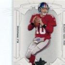 ELI MANNING 2008 Leaf Rookies & Stars #63 NY Giants OLE MISS QB