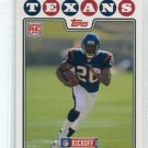 STEVE SLATON 2008 Topps Kickoff #187 Houston Texans WEST VIRGINIA