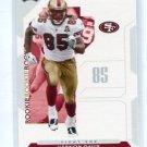 VERNON DAVIS 2006 Playoff NFL Playoffs #84 ROOKIE Maryland SF 49ers
