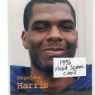 NAPOLEAN HARRIS 1996 Roox High School card NORTHWESTERN Raiders